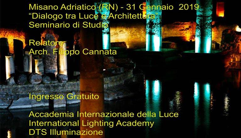 """""""Dialogo tra Luce e Architettura"""" seminario a cura di Filippo Cannata"""
