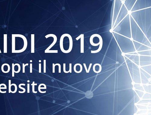 AIDI 2019 scopri il nuovo website