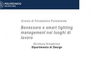 Benessere e smart lighting management nei luoghi di lavoro