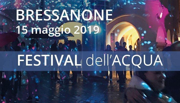 Bressanone 2019 - Festival dell'Acqua