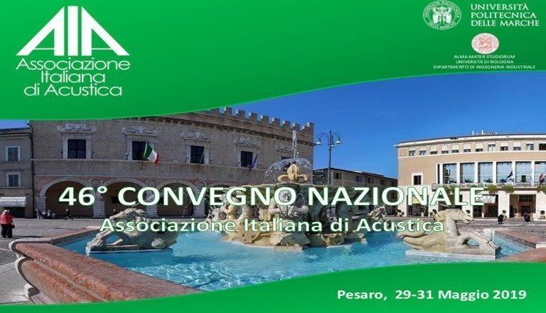 46° Convegno Nazionale Associazione Italiana di Acustica