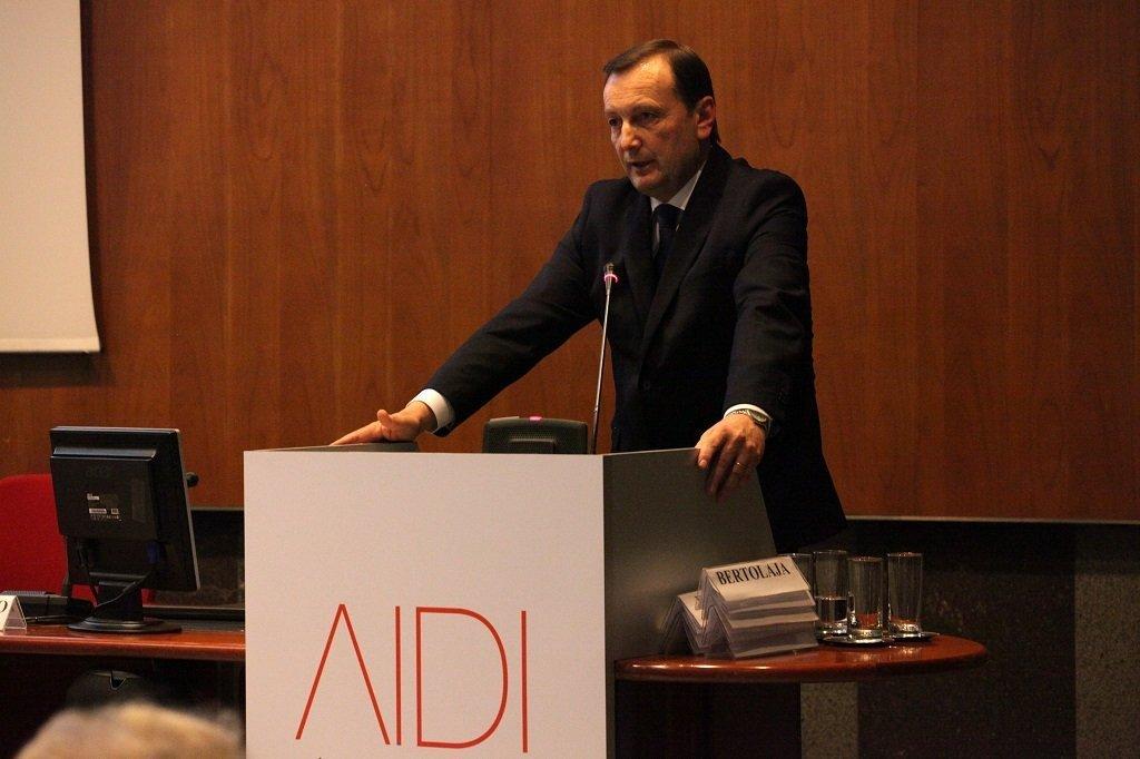 Gian Paolo Roscio, Presidente AIDI, ph. Giulio Crosara