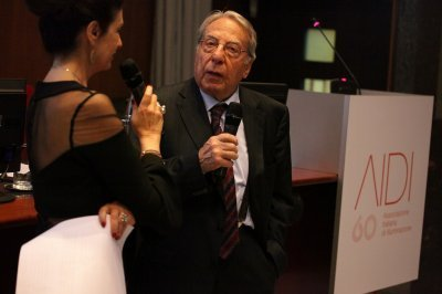 Mario Bonomo, Socio Onorario e Consigliere AIDI, ph. Giulio Crosara