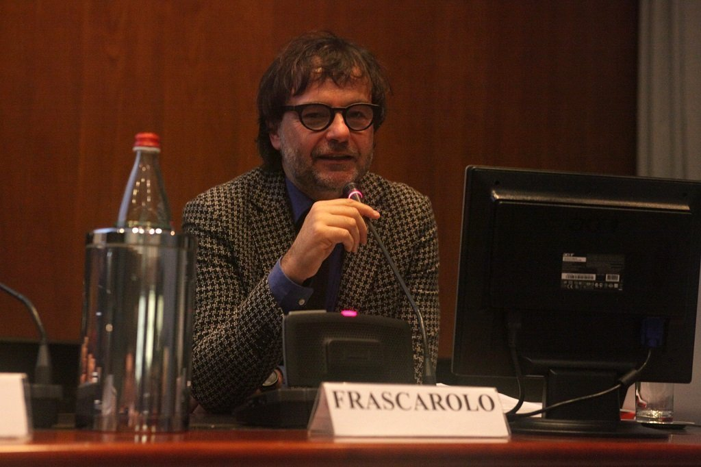 Marco Frascarolo, Progettista e docente Università Roma3, ph. Giulio Crosara