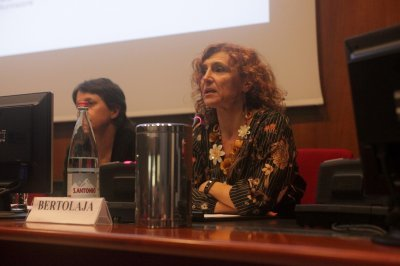 Chiara Bertolaja, Architetto e progettista di illuminazione, ph. Giulio Crosara