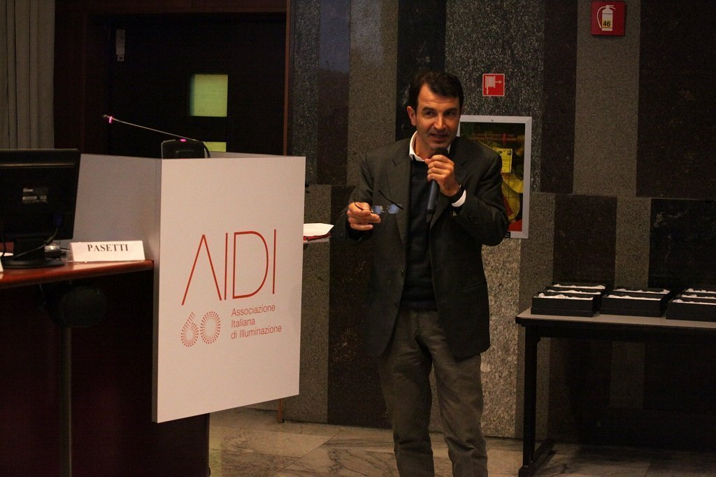 Alberto Pasetti, Lighting designer, ph. Giulio Crosara