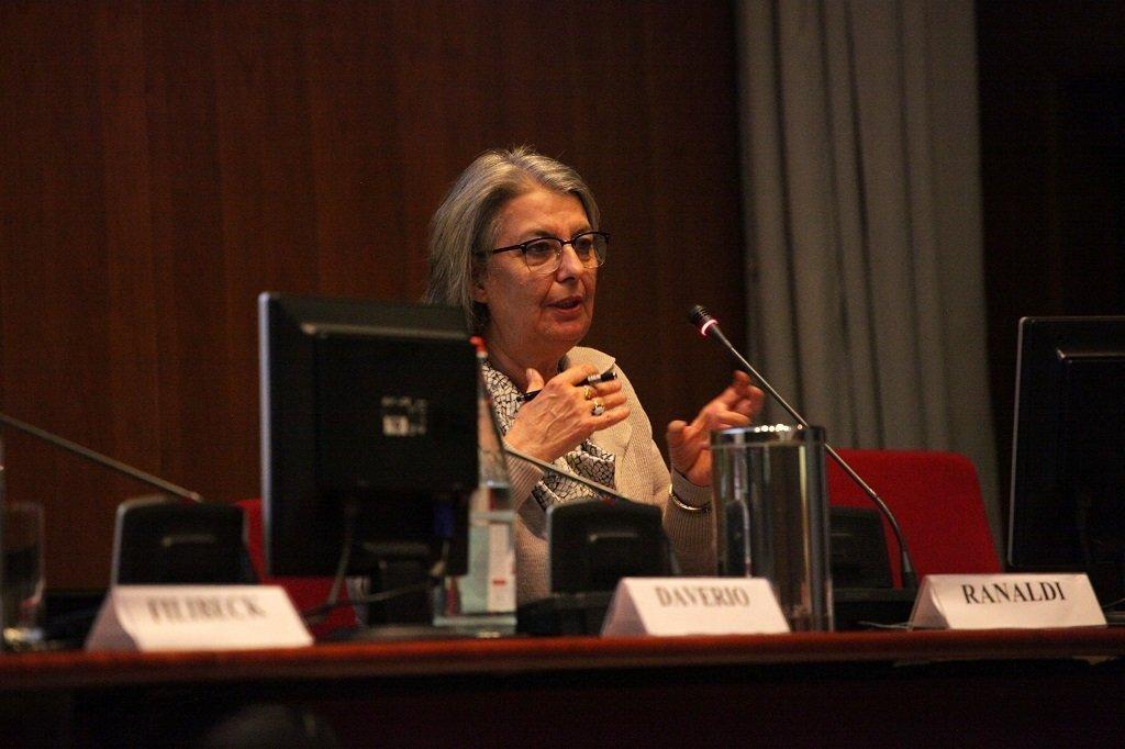 Antonella Ranaldi, Soprintendente dei Beni Architettonici e Monumentali di Milano, ph. Giulio Crosara