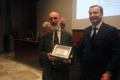 Alberto Scarlatti ritira il premio per il socio storico ACEA, ph. Giulio Crosara