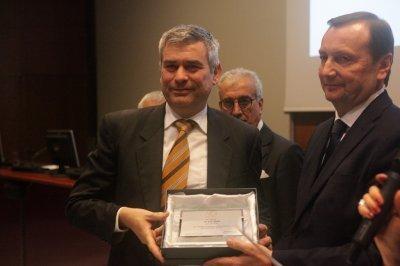 Giovanni Bonazzi ritira il premio per il socio storico 3F Filippi, ph. Giulio Crosara