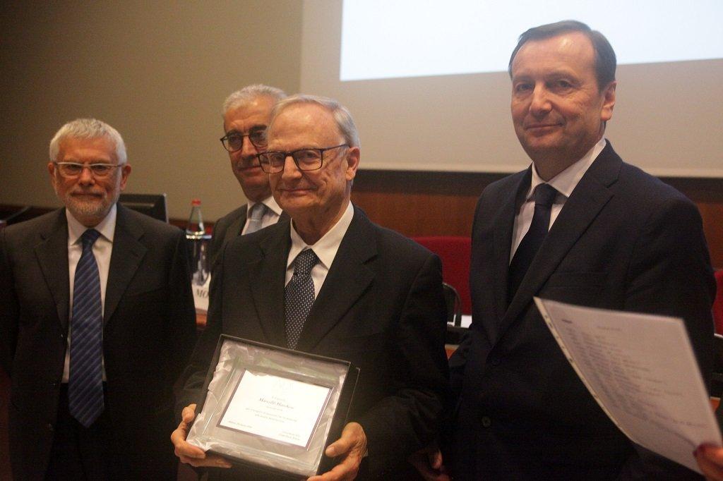 Marcello Marchese riceve il premio come socio storico, ph. Giulio Crosara