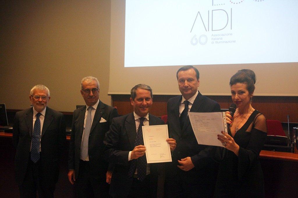 Andrea Solzi ritira il premio per il socio storico ASSIL, ph. Giulio Crosara