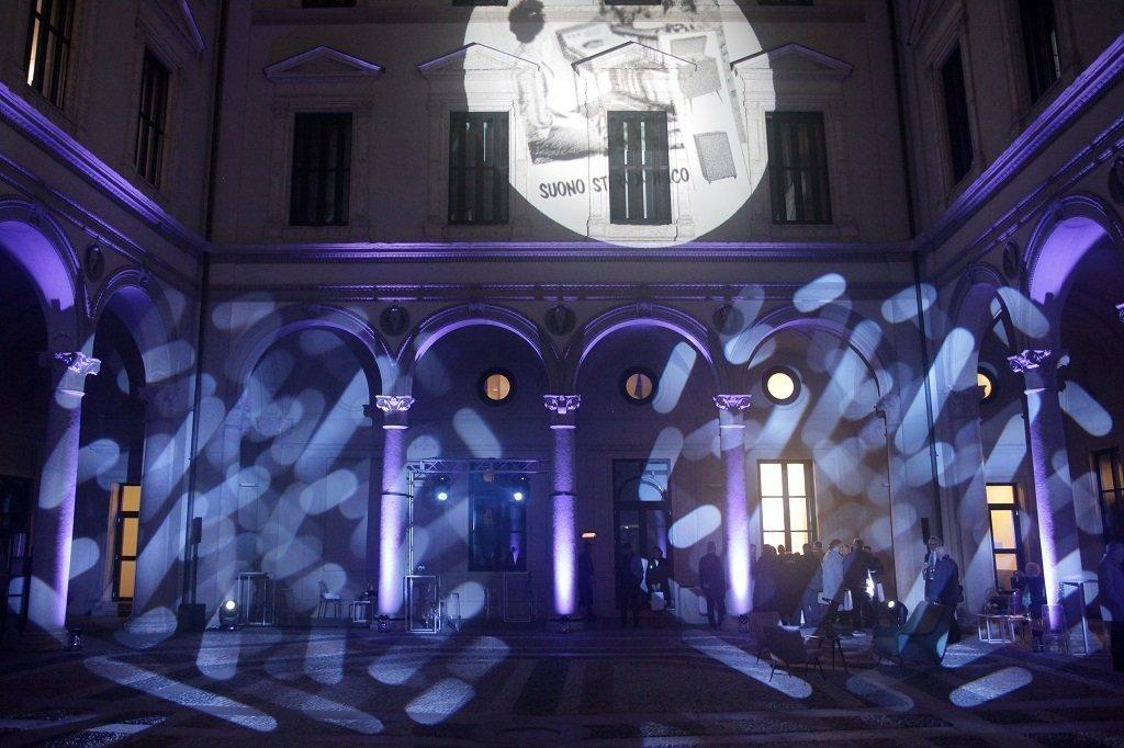 Cortile Palazzo Turati, ph. Giulio Crosara