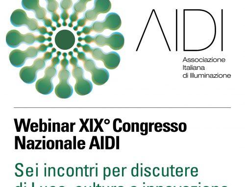 Webinar XIX Congresso Nazionale AIDI